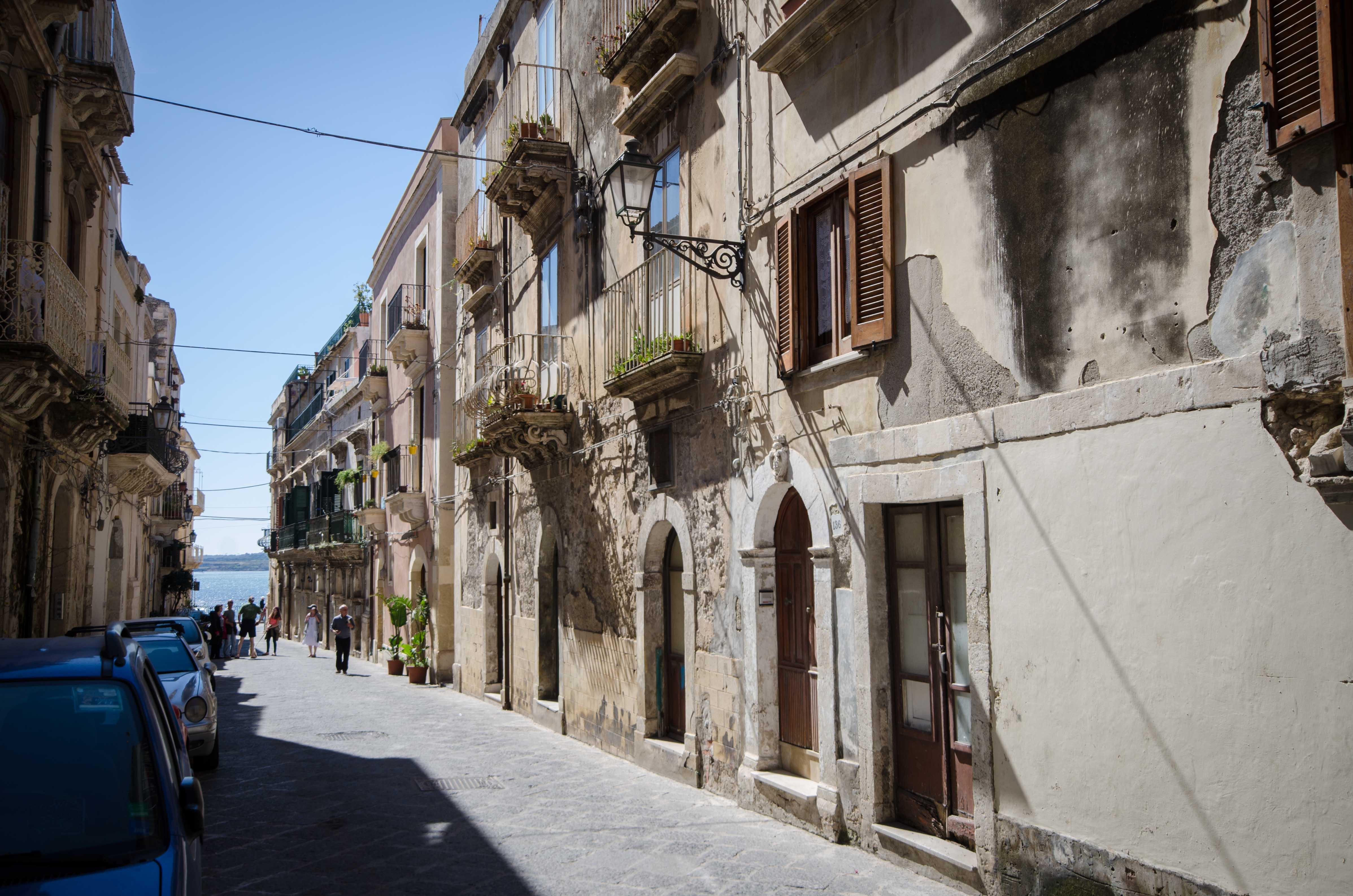 Appartamento indipendente nel centro storico di siracusa for Centro benessere siracusa ortigia